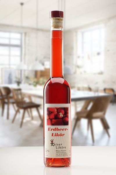 Erdbeer Likoer Schwarzwälder Langhals-350ml