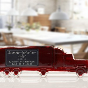 Brombeer Heidelbeer Likör Truck 200 ml