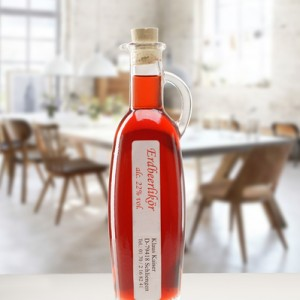 Erdbeer Likoer Essig und Öl 100ml