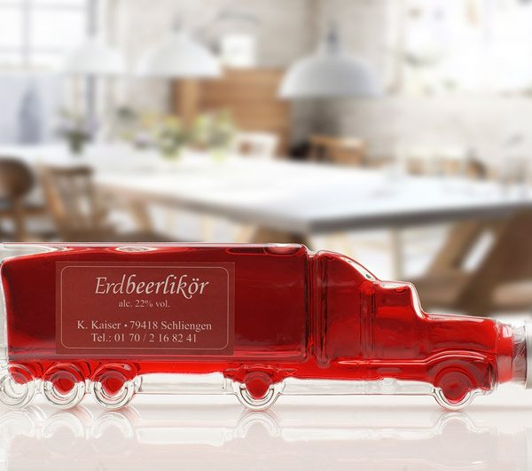 Erdbeer Likör Truck von Kaiser Liköre